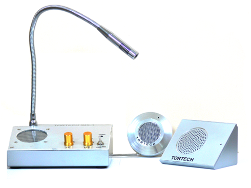 IMS1-W   Through Glass Intercom with Wedge Speaker/Remote
