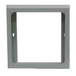 SH20   White Metal Surface Mount Back Box (open back)