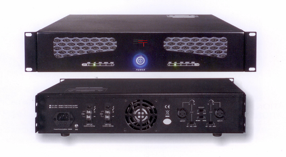 PAS500   500 Watt 2 Channel (2 x 250 watt) Booster Amplifier