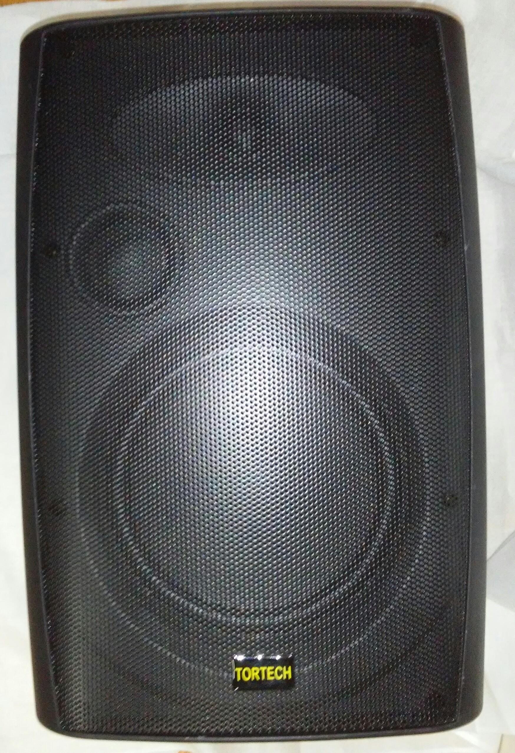 EMS880T   50 Watt / 70 Volt 2 Way Cabinet Speaker, Black