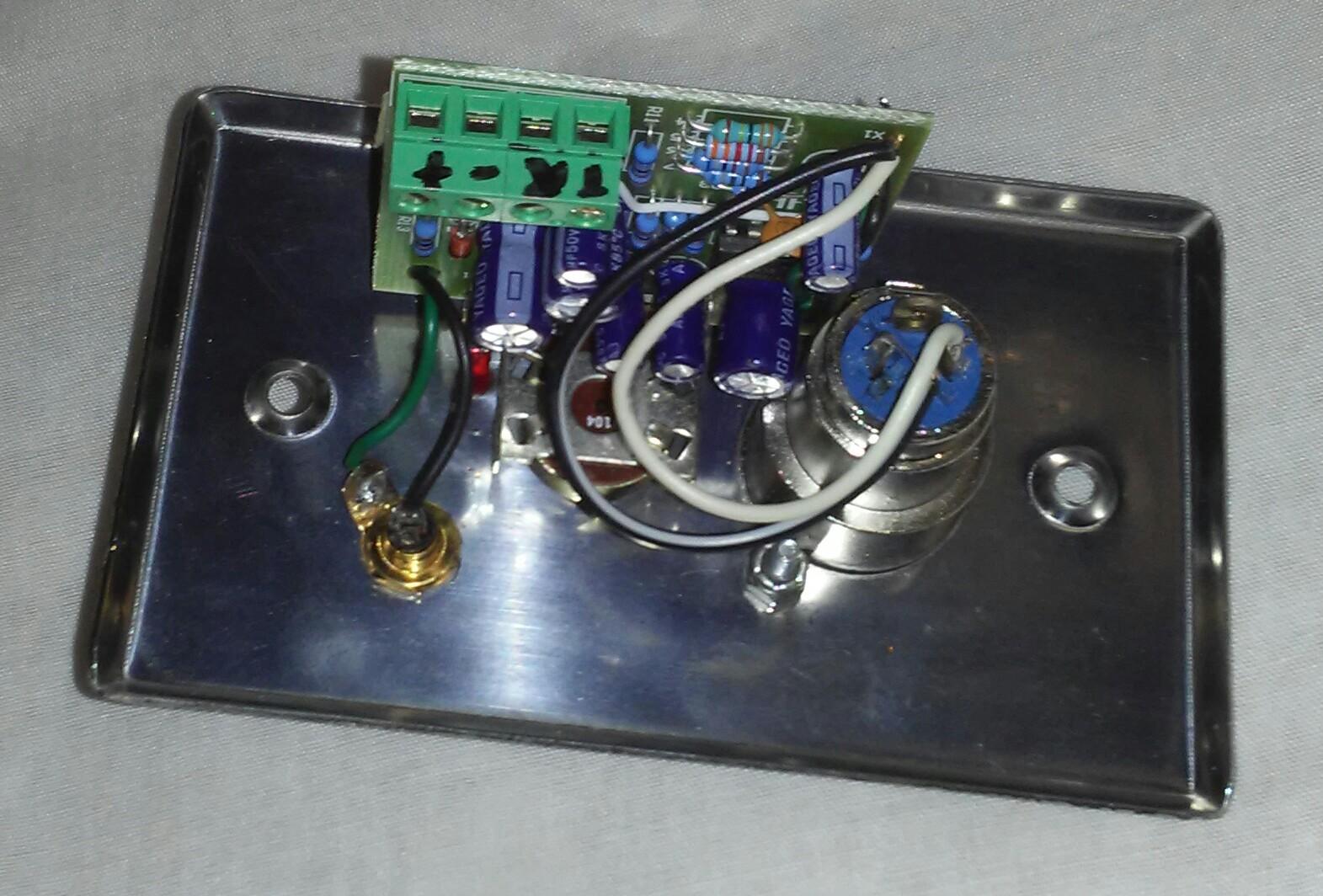 MX22   Remote 2 Channel Mixer