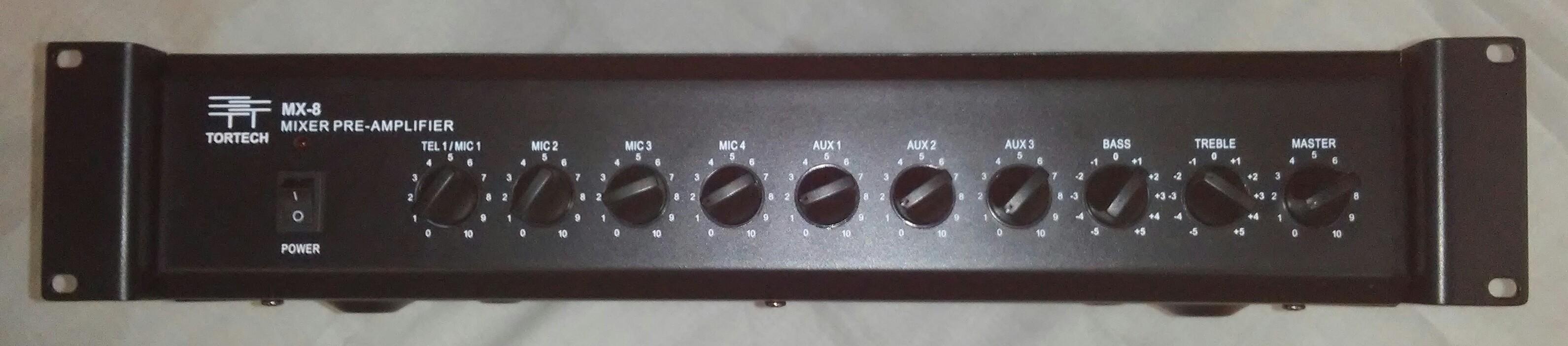 MX8   8 Channel Mixer / Pre-Amp