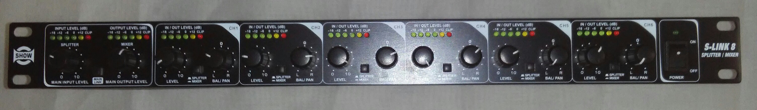 MXS86   6 Channel Mixer / Splitter
