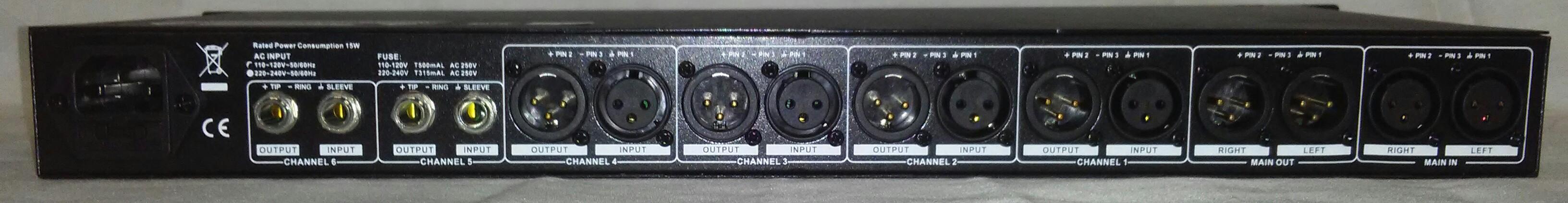 MXS86   6 Channel Mixer / Splitter