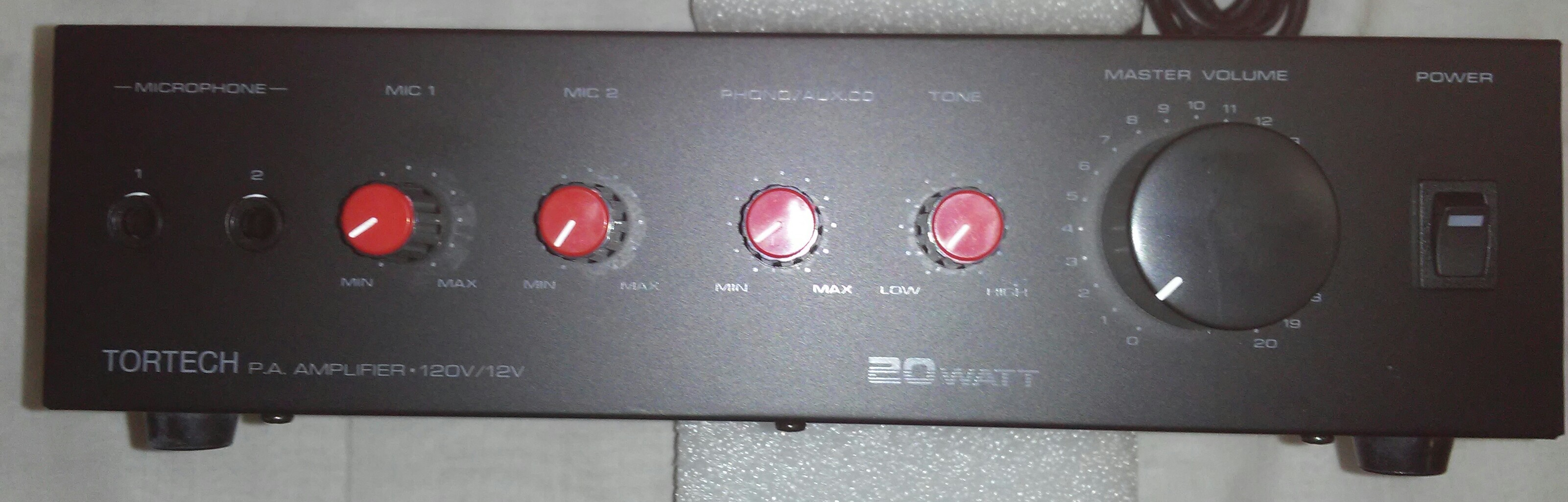 PA20   20 Watt PA Amplifier