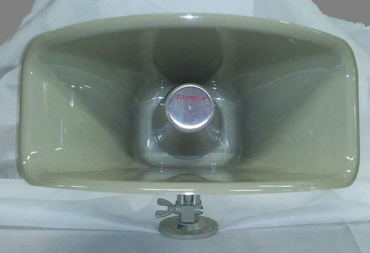 SH30TC   30 watt 25/70 Volt Re-Entrant Hi-Efficiency Wide Angle Paging Horn