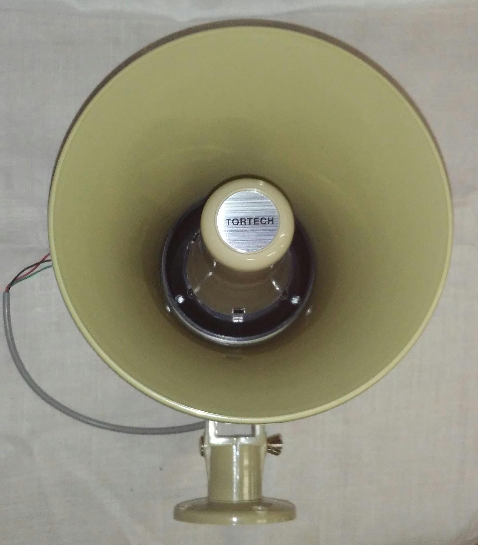 TH16T   16 Watt 25V/70V/8Ω  Plastic Paging Horn