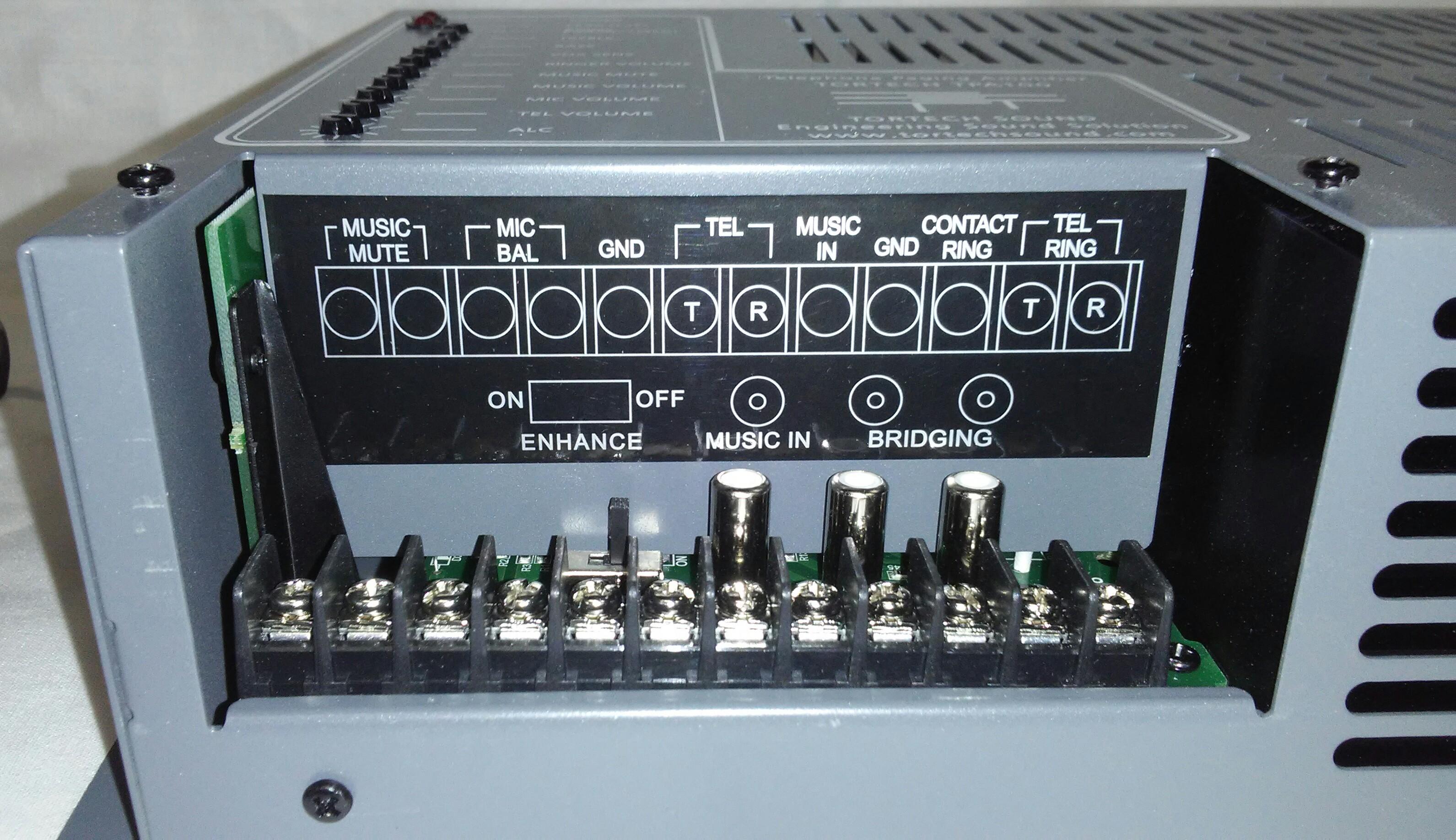 TPA100   100 Watt Telephone Paging Amplifier
