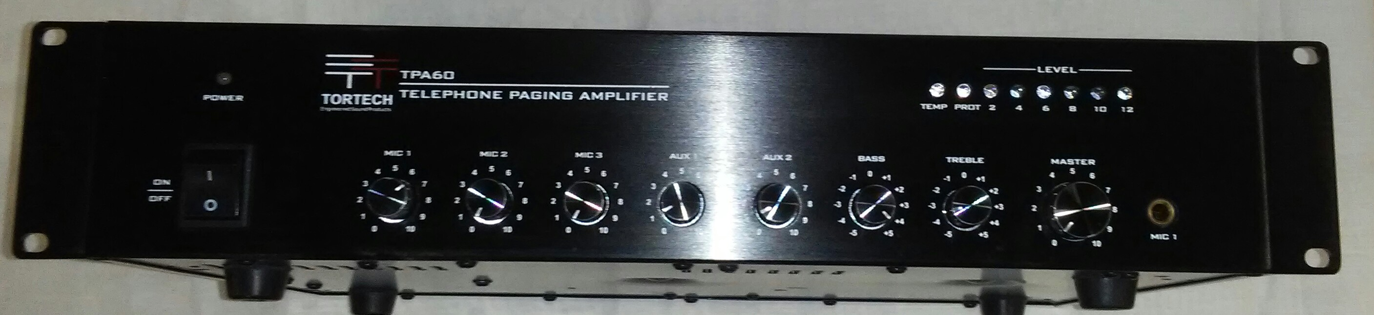 TPA60   60 Watt Telephone Paging Amplifier With Night Ringer