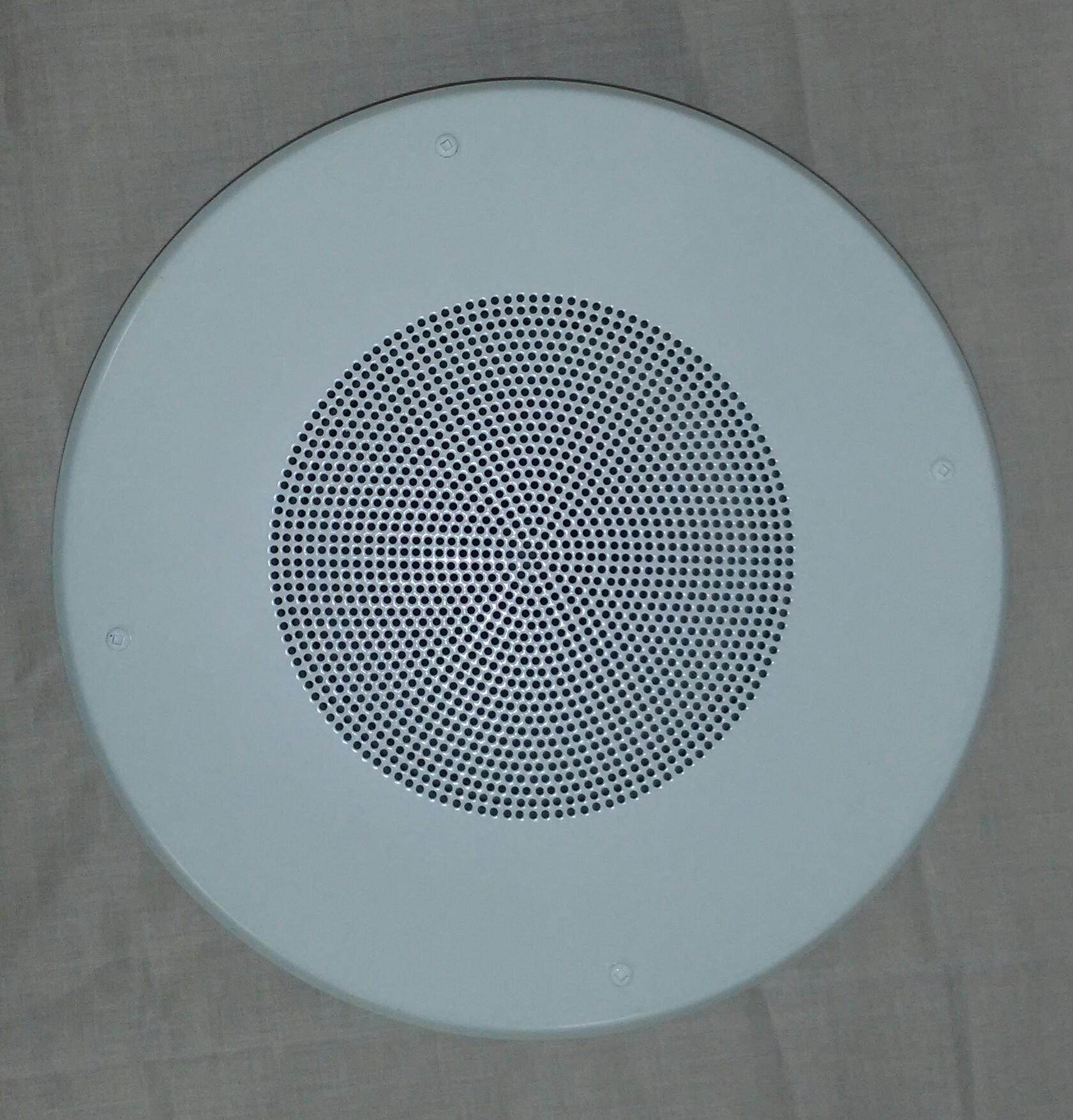 TT80670TR   Round 25/70volt 5 Watt Ceiling-Wall Flush Mount Speaker