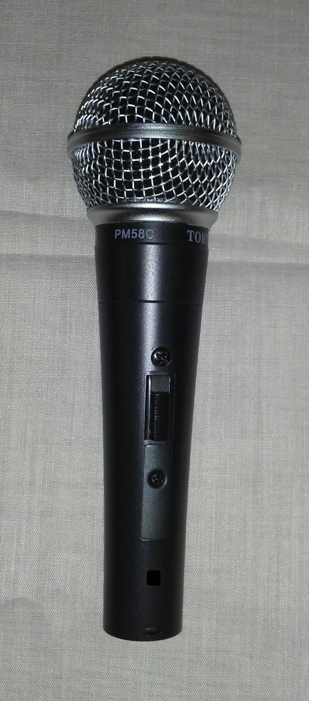 PM58   Unidirectional Dynamic Vocal Microphone