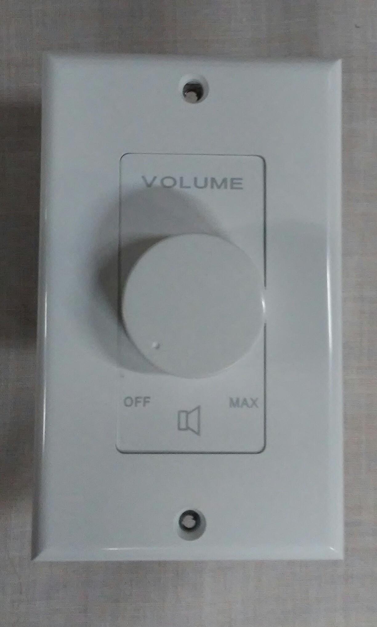 VC1070TD   10 Watt / 70 Volt Volume Control