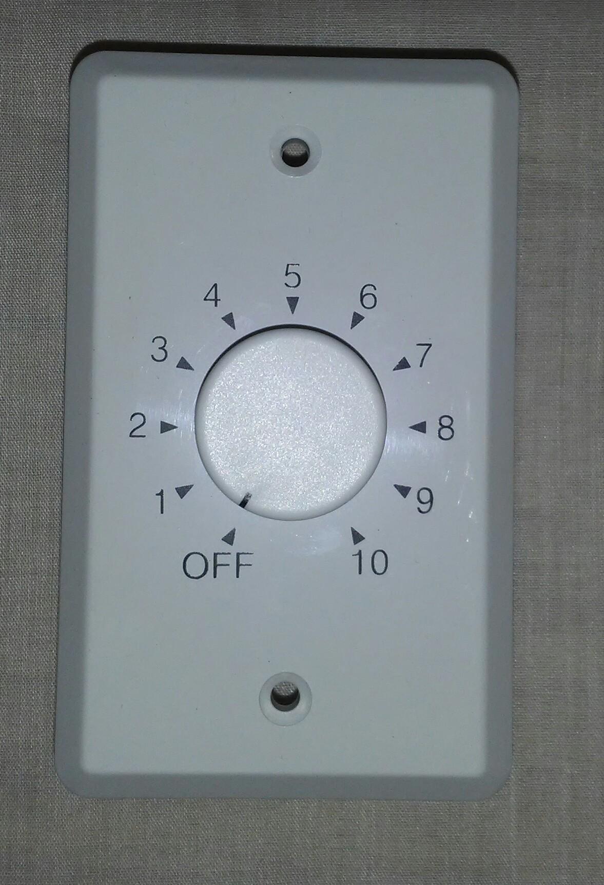VC2070TW   20 Watt / 70 Volt Volume Control