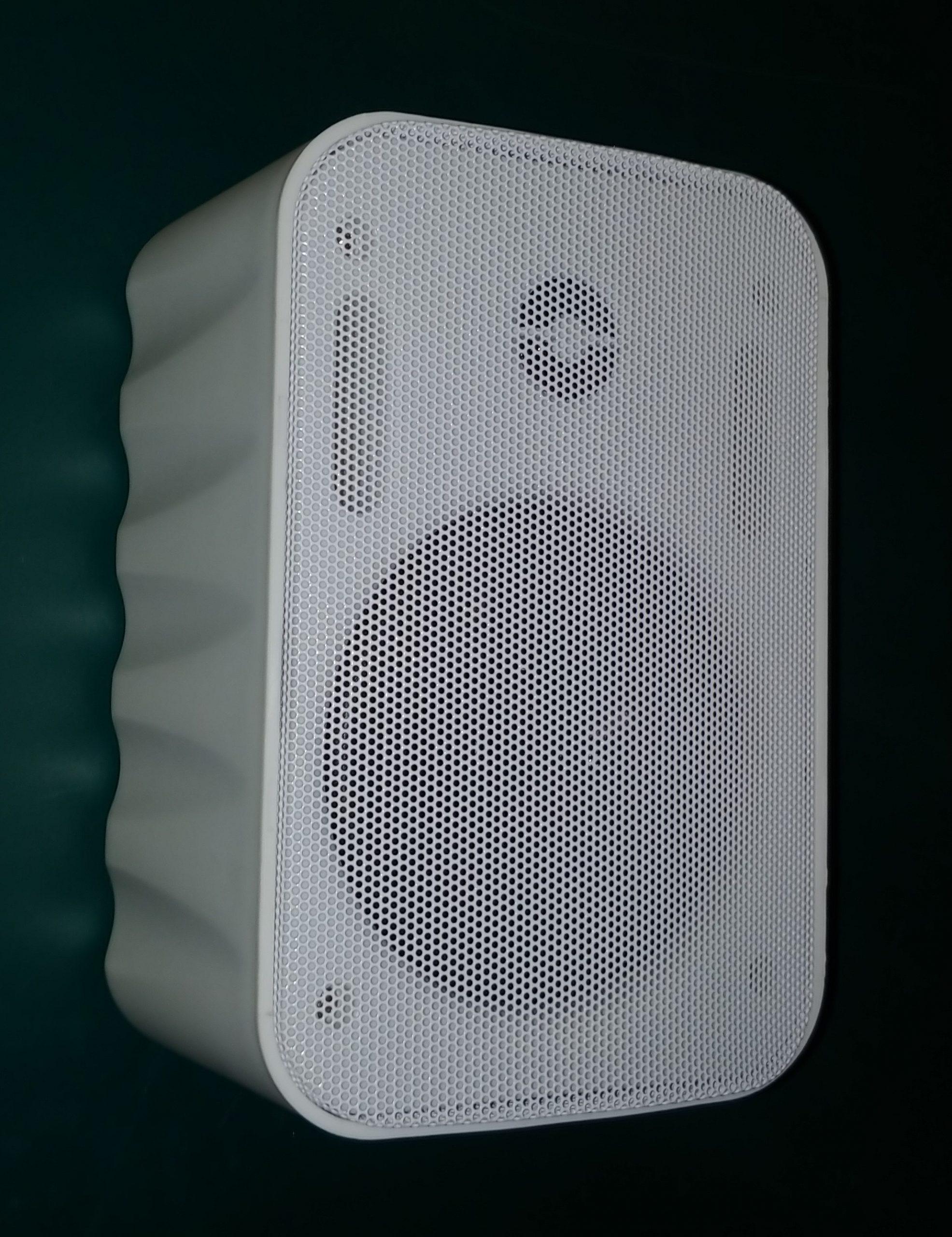 EMS555TW   50 Watt / 70 Volt 2 Way Cabinet Speaker, White
