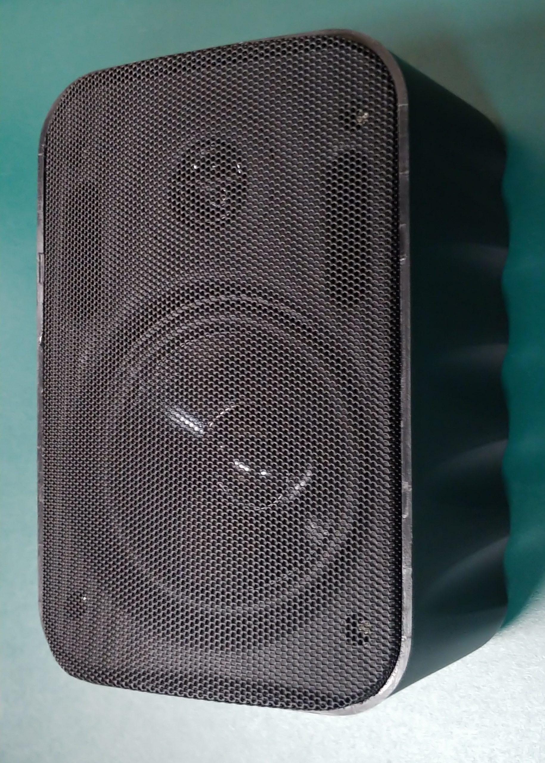 EMS555T   50 Watt / 70 Volt 2 Way Cabinet Speaker, Black
