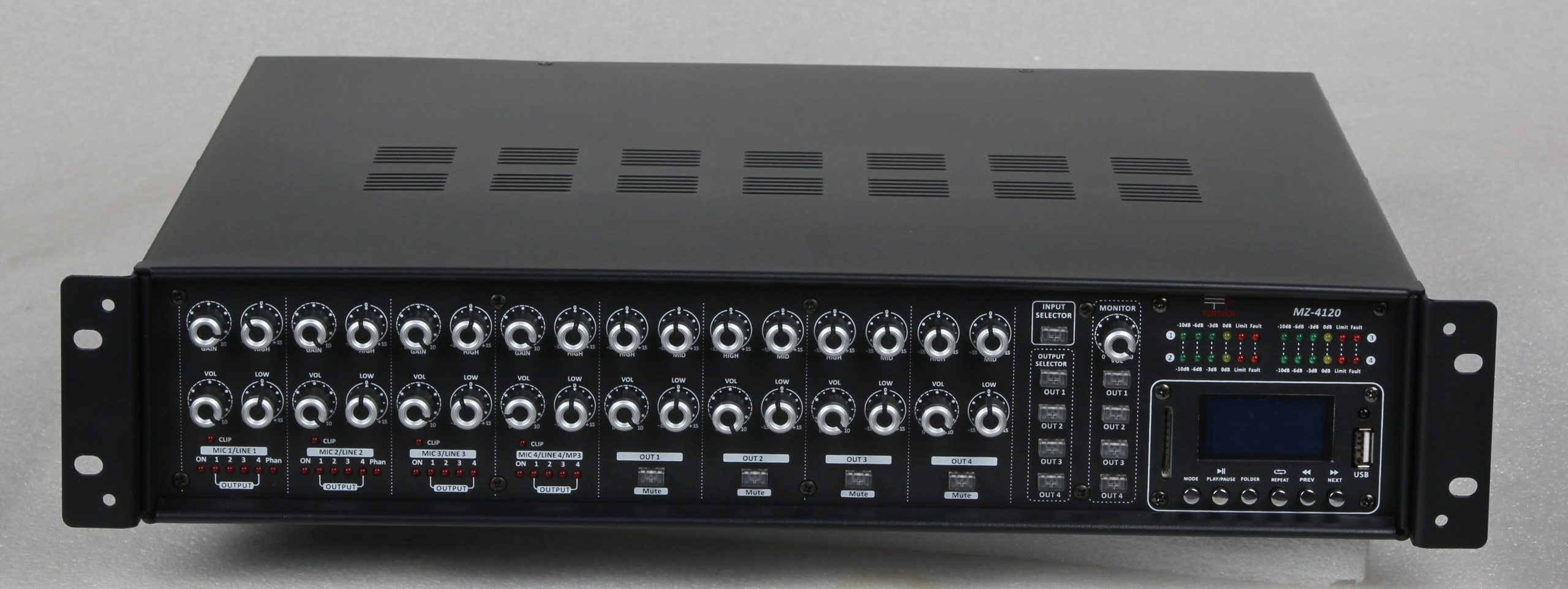MZ4120A   480 Watt 4 Zone Amplifier