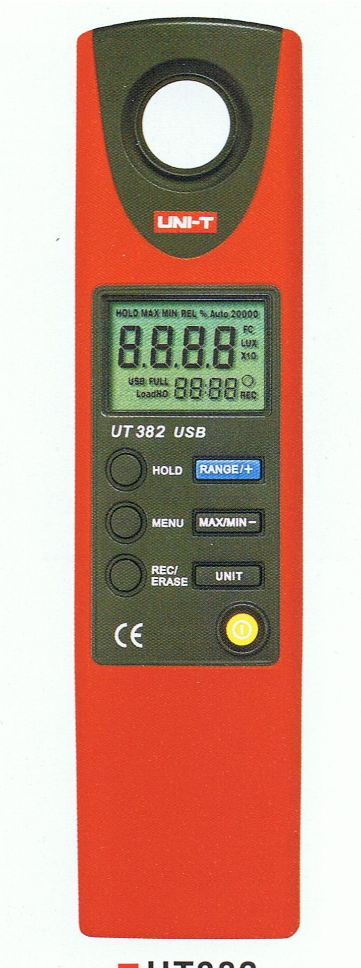 UT382  Uni-T   Illuminometer