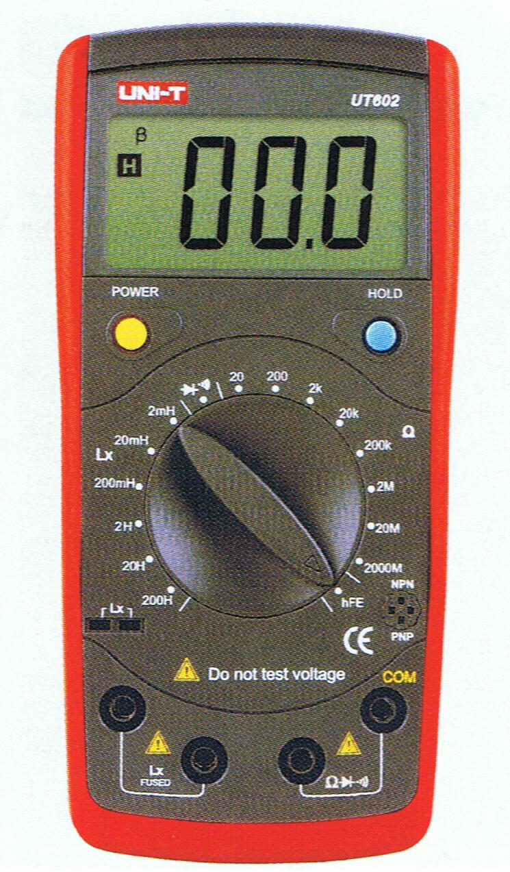 UT602  Uni-T   Resistance / Induction Meter with Data Hold